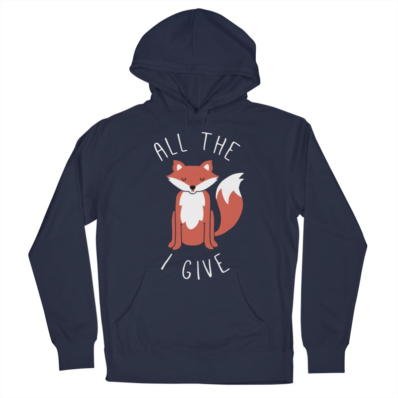 All the Fox Men's French Terry Pullover Hoody by kellabell9