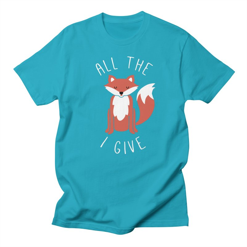 All the Fox Men's Regular T-Shirt by kellabell9
