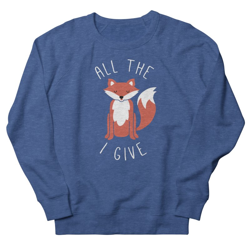 All the Fox Men's French Terry Sweatshirt by kellabell9