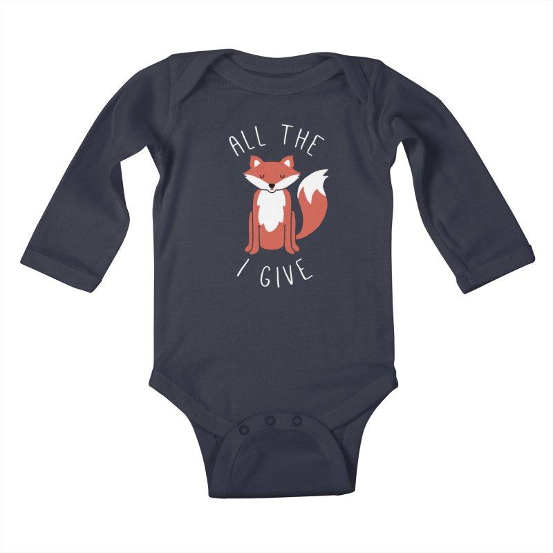 All the Fox Kids Baby Longsleeve Bodysuit by kellabell9