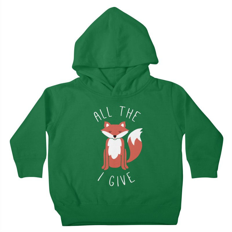 All the Fox Kids Toddler Pullover Hoody by kellabell9