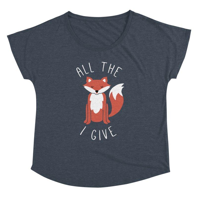 All the Fox Women's Dolman by kellabell9