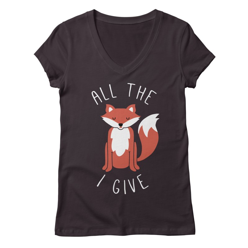 All the Fox Women's V-Neck by kellabell9