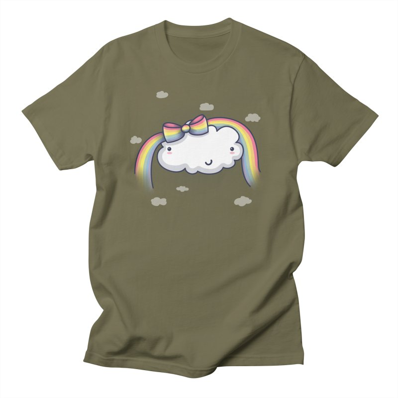 Rainbow's Bow Men's T-Shirt by kellabell9