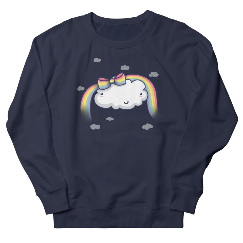 Rainbow's Bow Women's French Terry Sweatshirt by kellabell9