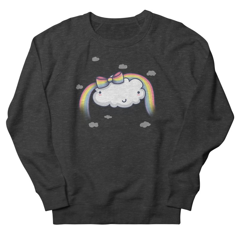Rainbow's Bow Men's French Terry Sweatshirt by kellabell9