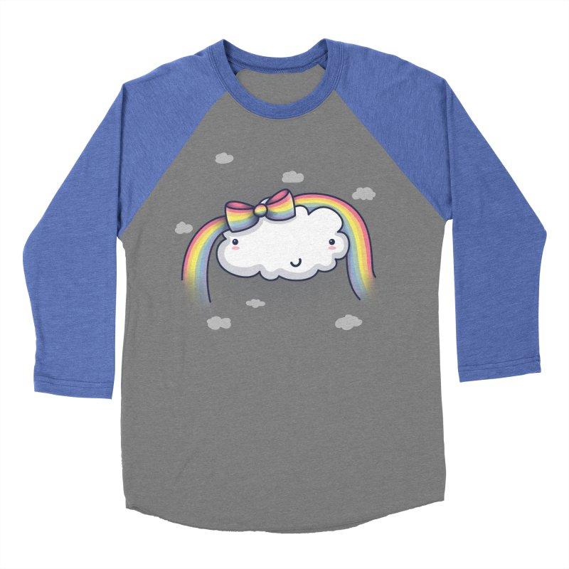 Rainbow's Bow Men's Baseball Triblend T-Shirt by kellabell9