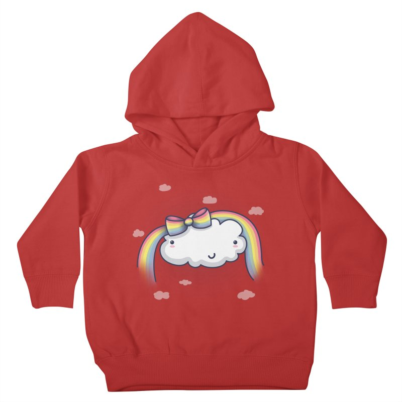 Rainbow's Bow Kids Toddler Pullover Hoody by kellabell9