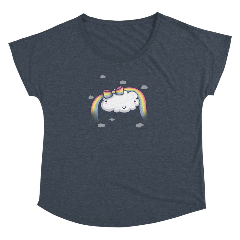 Rainbow's Bow Women's Dolman by kellabell9