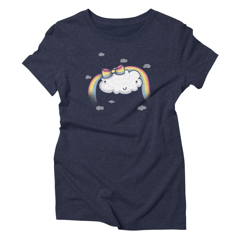 Rainbow's Bow Women's T-Shirt by kellabell9