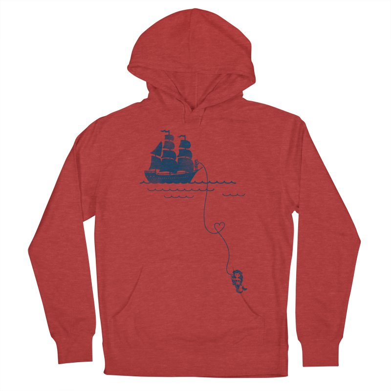 Love Distance Love Men's Pullover Hoody by kellabell9