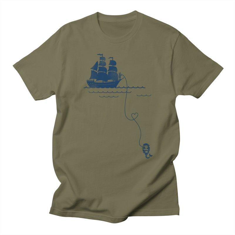 Love Distance Love Men's T-Shirt by kellabell9