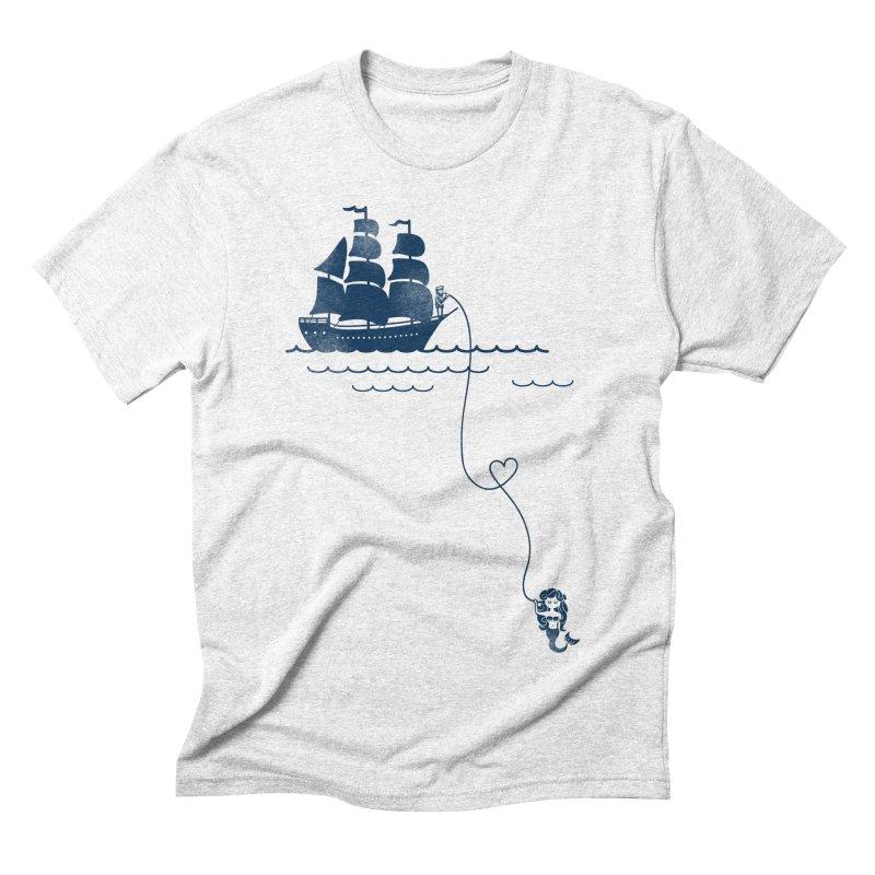 Love Distance Love Men's Triblend T-shirt by kellabell9