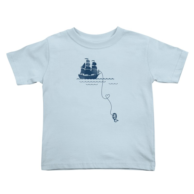 Love Distance Love Kids Toddler T-Shirt by kellabell9