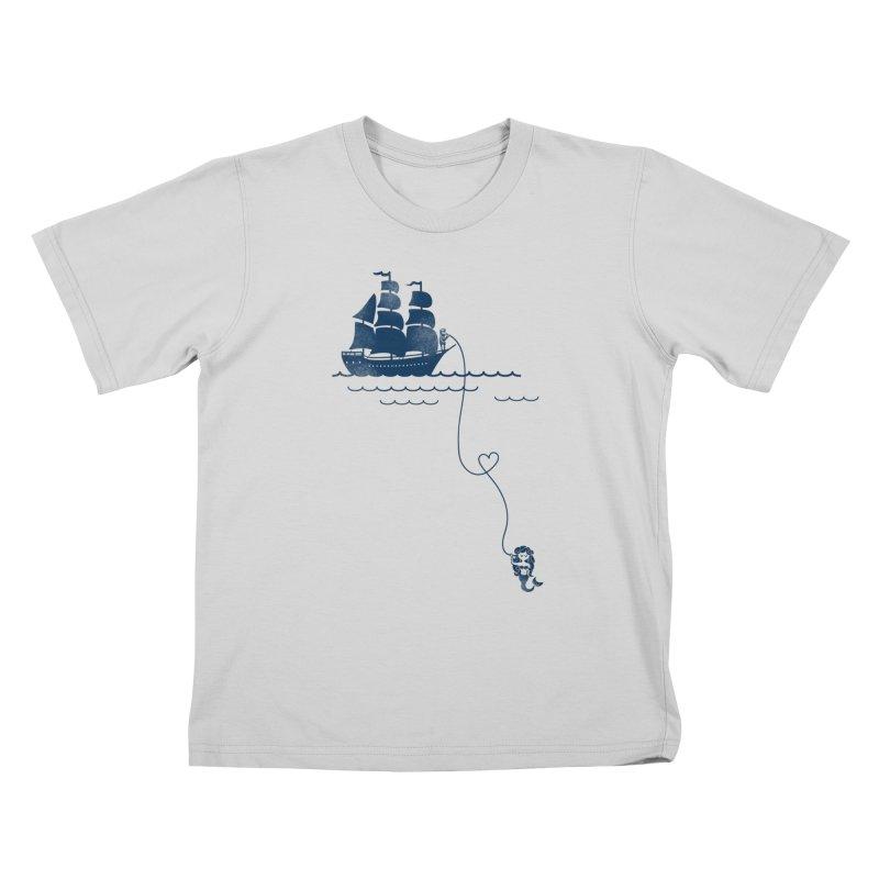 Love Distance Love Kids T-Shirt by kellabell9