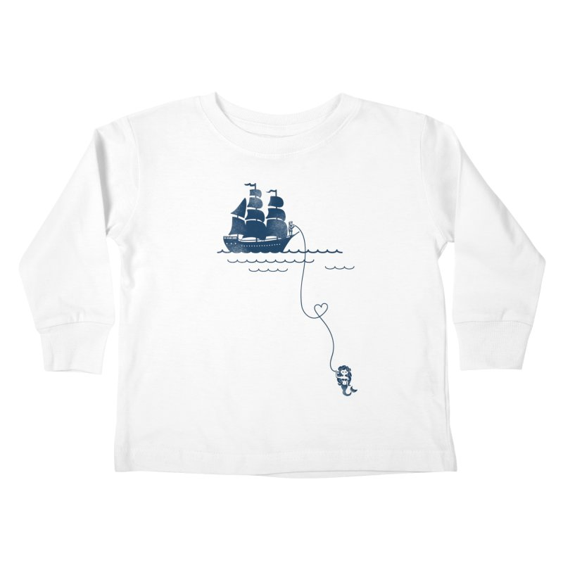 Love Distance Love Kids Toddler Longsleeve T-Shirt by kellabell9