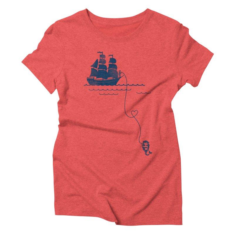 Love Distance Love Women's Triblend T-shirt by kellabell9