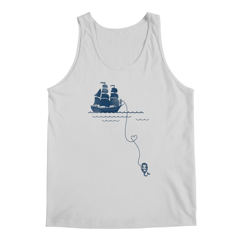 Love Distance Love Men's Regular Tank by kellabell9
