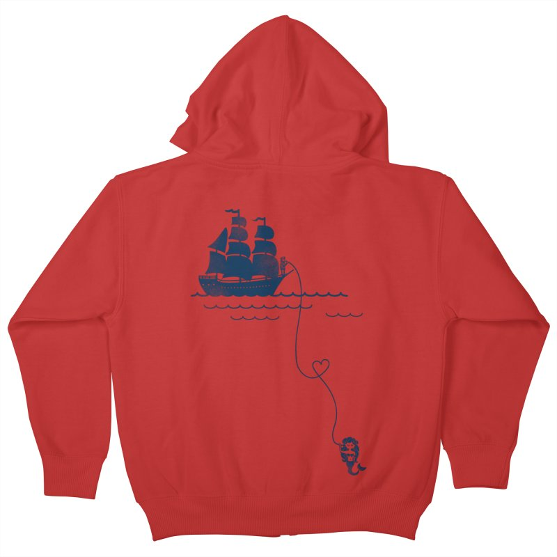 Love Distance Love Kids Zip-Up Hoody by kellabell9