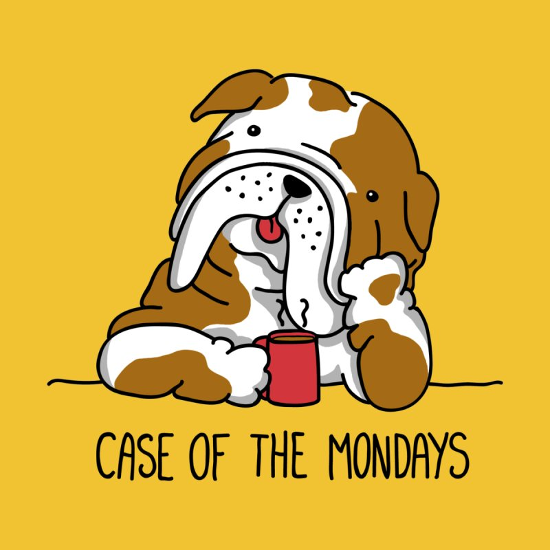 Case of the Mondays Men's T-Shirt by kellabell9