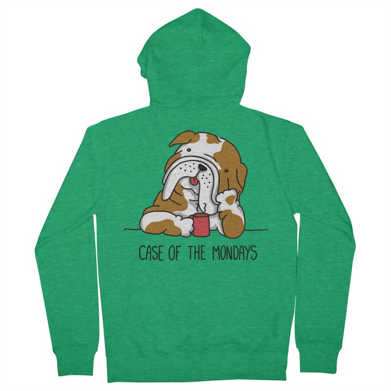 Case of the Mondays Men's French Terry Zip-Up Hoody by kellabell9