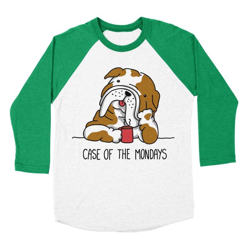 Case of the Mondays Women's Baseball Triblend T-Shirt by kellabell9