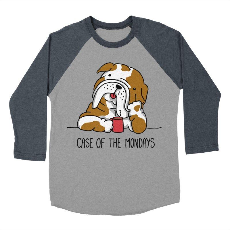 Case of the Mondays Women's Baseball Triblend Longsleeve T-Shirt by kellabell9