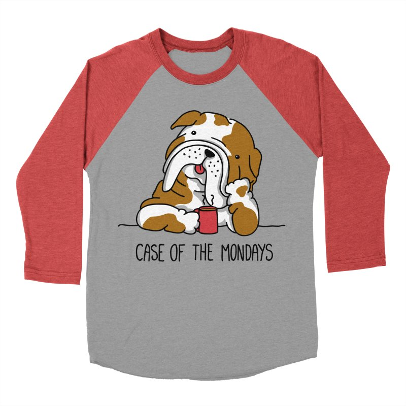 Case of the Mondays Men's Baseball Triblend T-Shirt by kellabell9