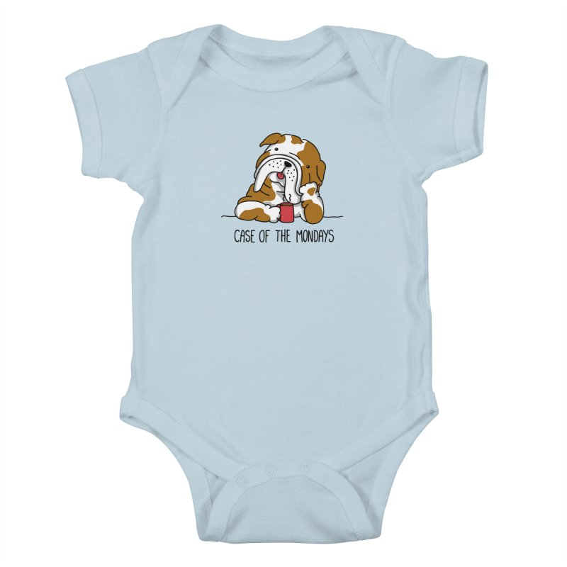 Case of the Mondays Kids Baby Bodysuit by kellabell9