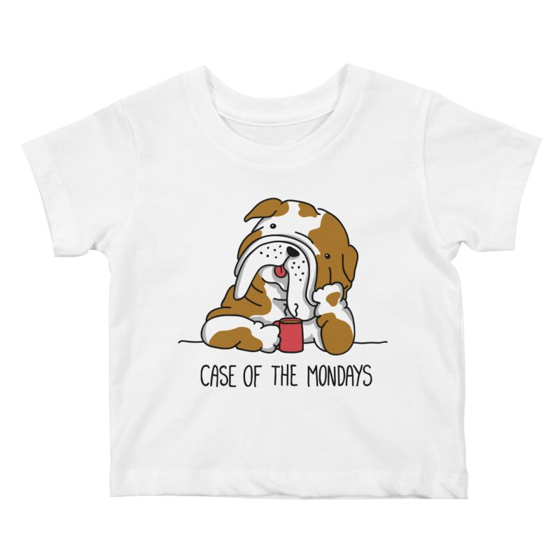 Case of the Mondays Kids Baby T-Shirt by kellabell9