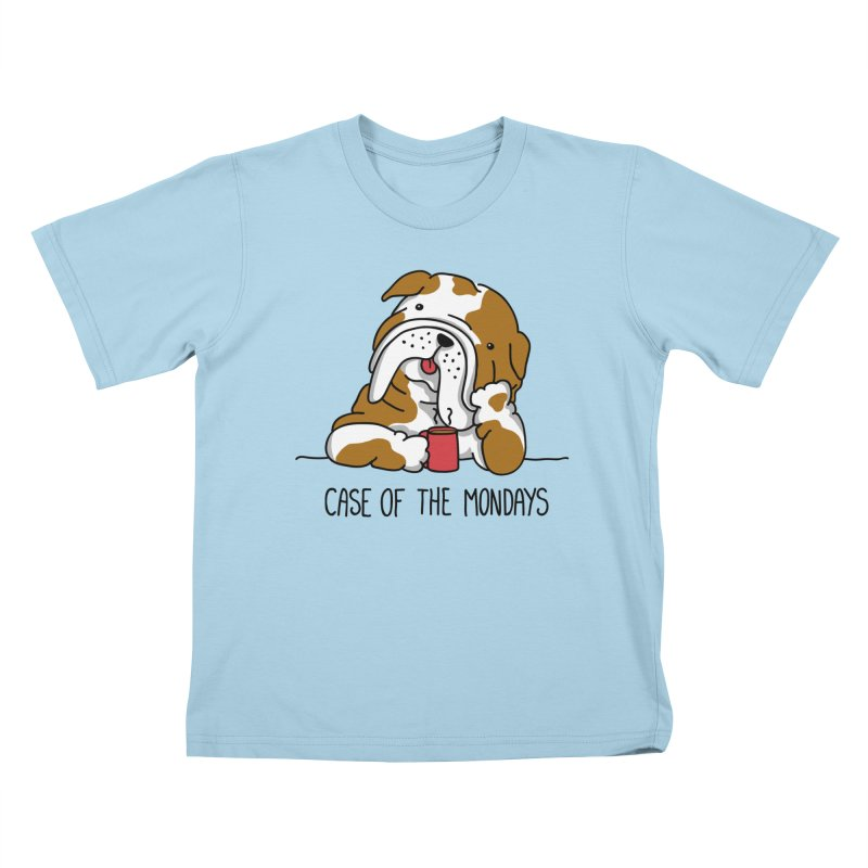 Case of the Mondays Kids T-Shirt by kellabell9