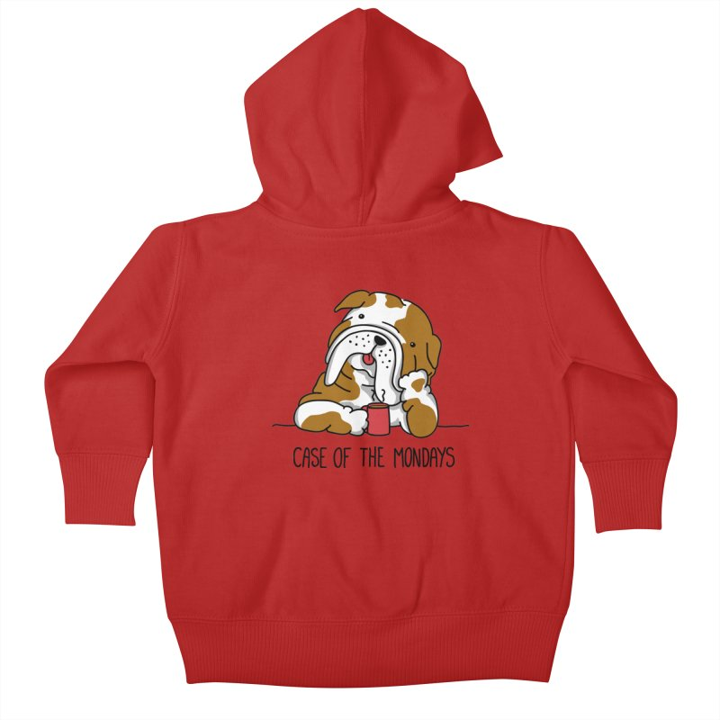Case of the Mondays Kids Baby Zip-Up Hoody by kellabell9