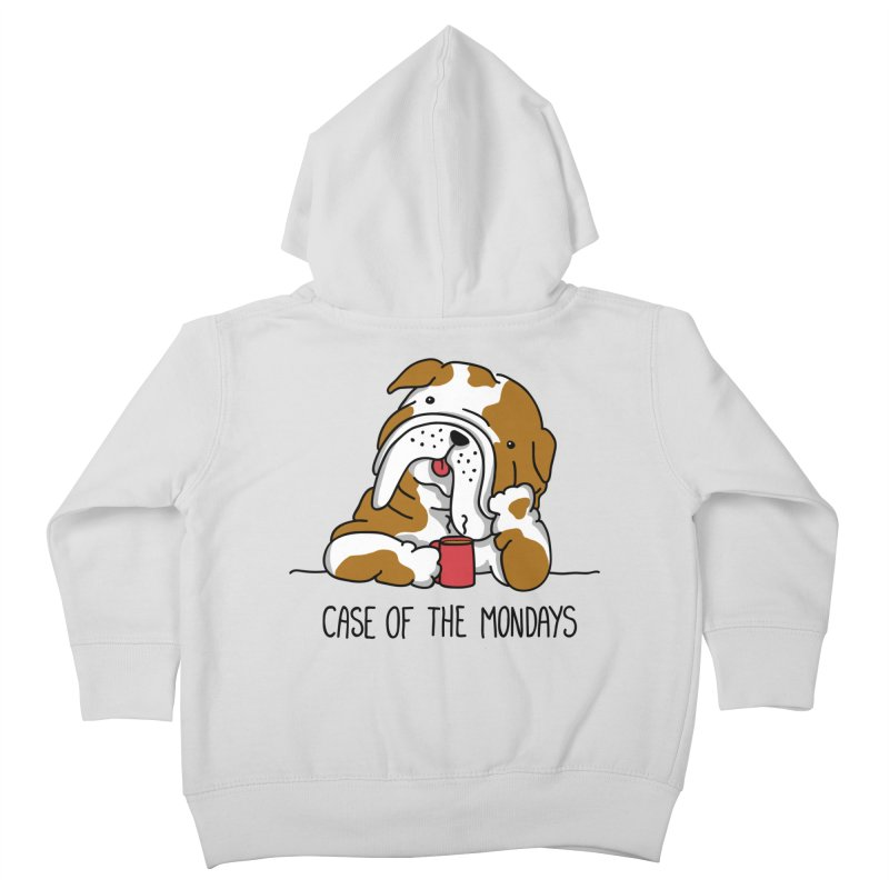 Case of the Mondays Kids Toddler Zip-Up Hoody by kellabell9