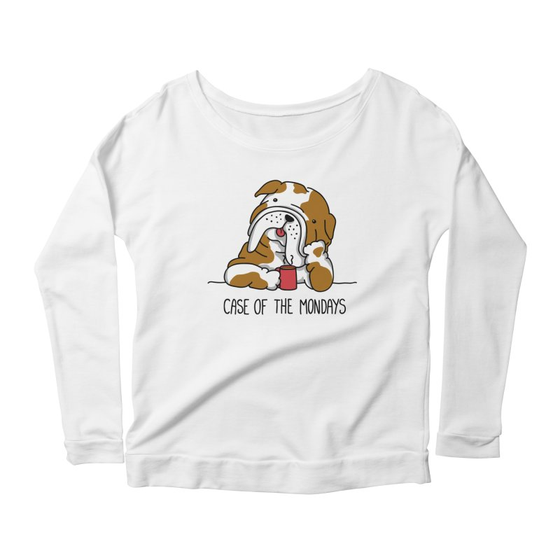 Case of the Mondays Women's Scoop Neck Longsleeve T-Shirt by kellabell9