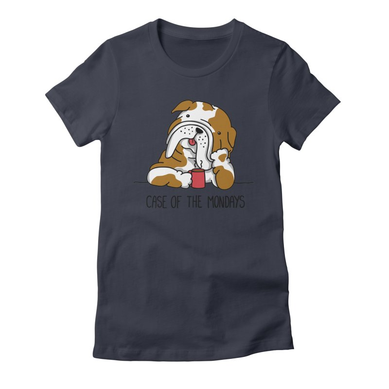 Case of the Mondays Women's Fitted T-Shirt by kellabell9