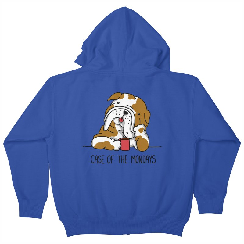 Case of the Mondays Kids Zip-Up Hoody by kellabell9