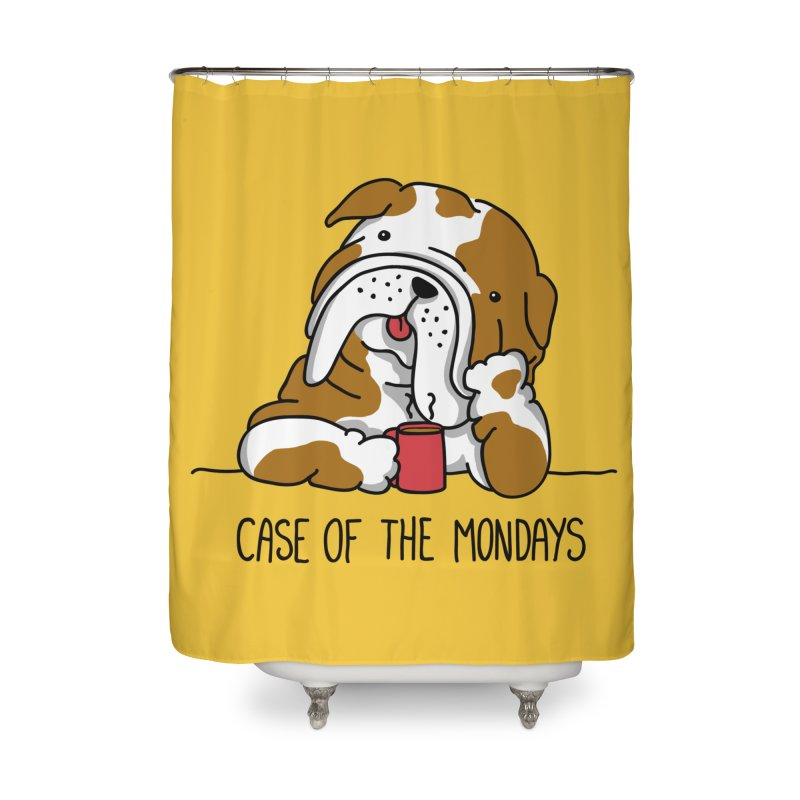 Case of the Mondays Home Shower Curtain by kellabell9