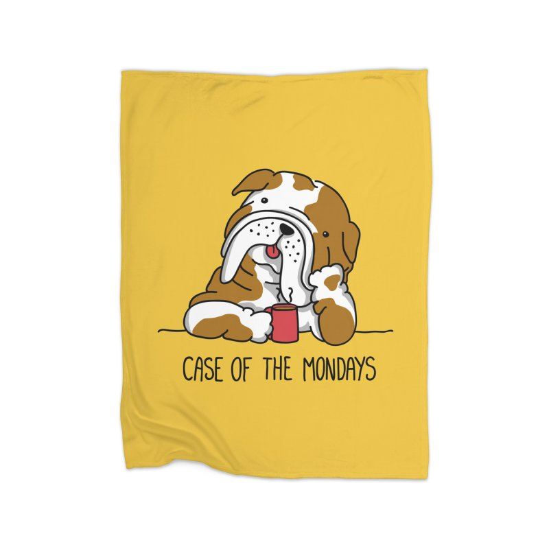 Case of the Mondays Home Blanket by kellabell9