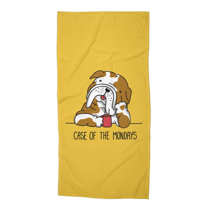 Case of the Mondays Accessories Beach Towel by kellabell9