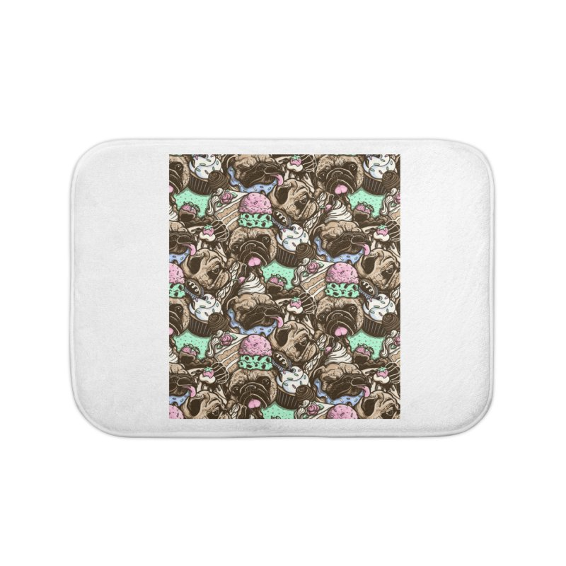 Dogs and Desserts Home Bath Mat by kellabell9