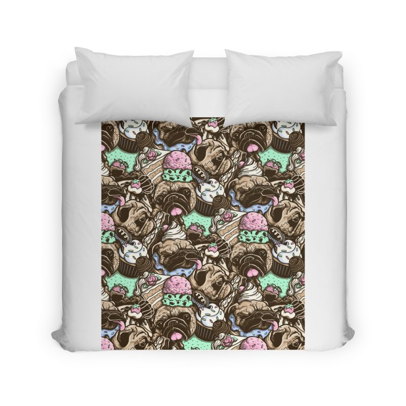 Dogs and Desserts Home Duvet by kellabell9