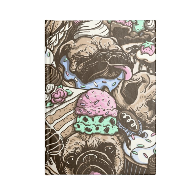 Dogs and Desserts Accessories Notebook by kellabell9