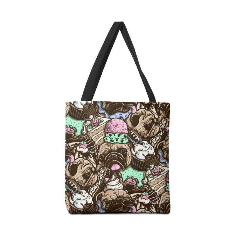 Dogs and Desserts Accessories Bag by kellabell9