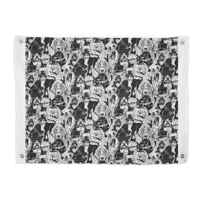 Dapper Dogs Home Tapestry by kellabell9