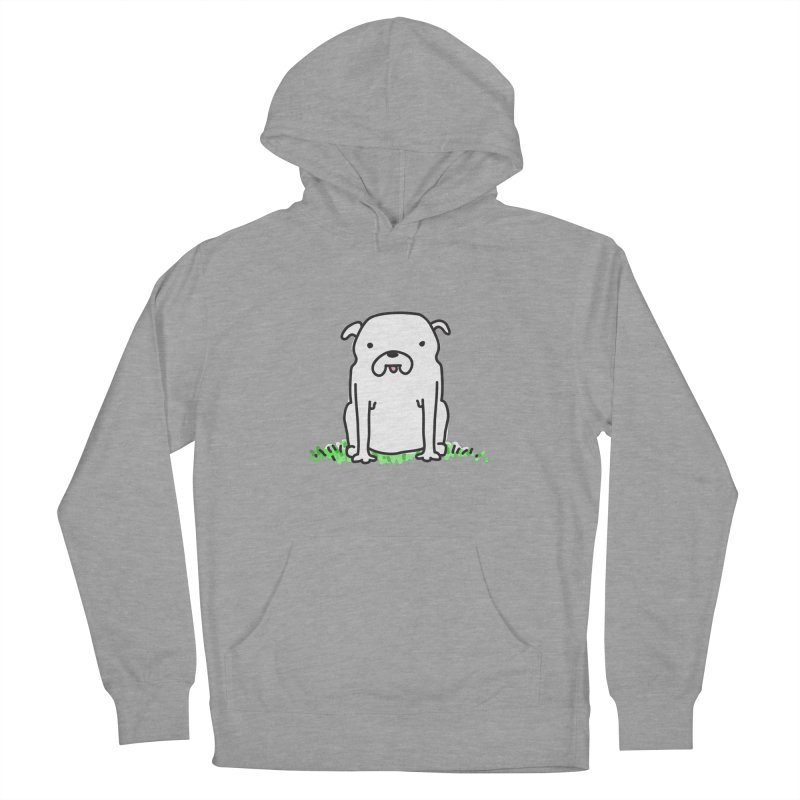 Dog Doodle Women's French Terry Pullover Hoody by kellabell9