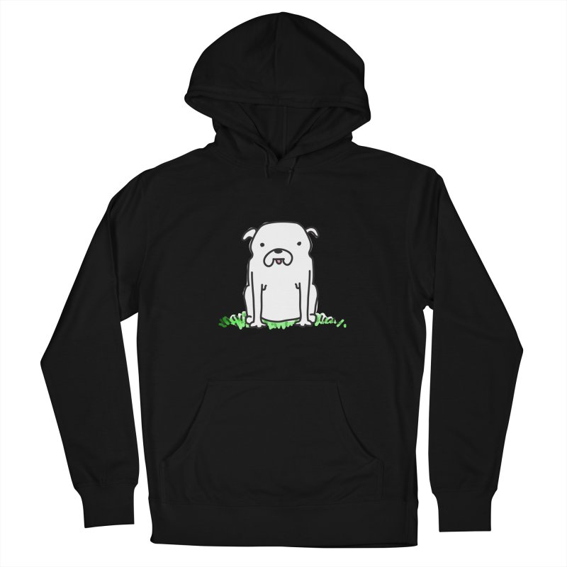 Dog Doodle Men's French Terry Pullover Hoody by kellabell9