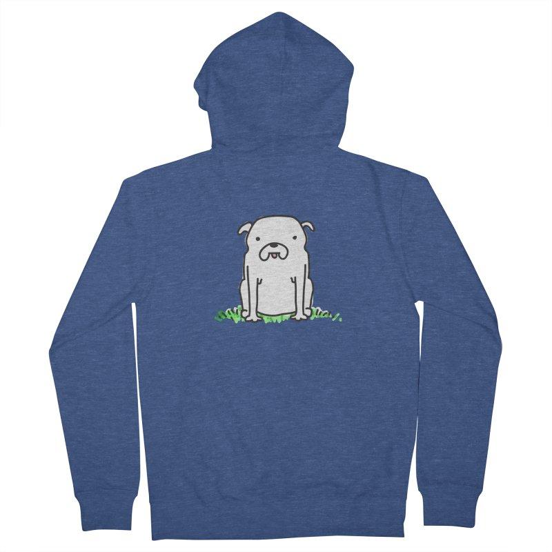 Dog Doodle Men's Zip-Up Hoody by kellabell9