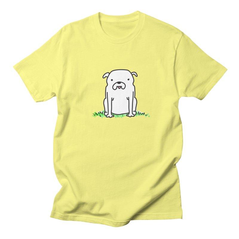Dog Doodle Men's T-shirt by kellabell9