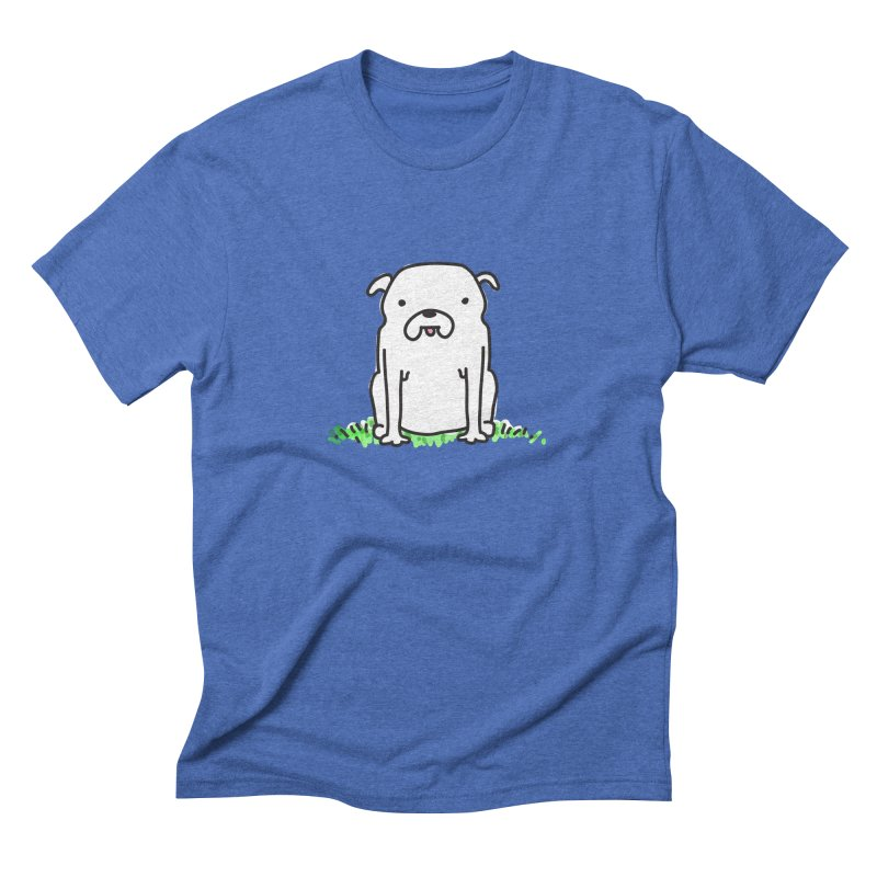 Dog Doodle Men's Triblend T-Shirt by kellabell9