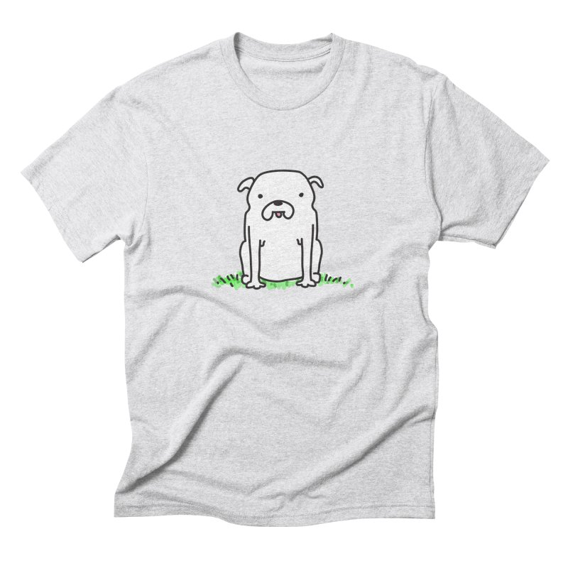 Dog Doodle Men's Triblend T-Shirt by kellabell9